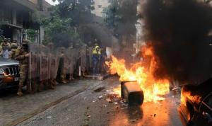 إشكال بين مواطنين ومحتجّين على خلفية قطع طريق