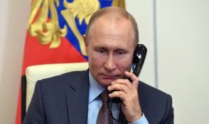 بوتين بحث مع رئيس المجلس الأوروبي قضية نافالني