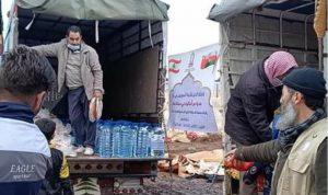 مساعدات من سلطنة عمان لمخيمات سهل عكار