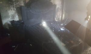 جريح إثر اندلاع حريق داخل منزله في صيدا