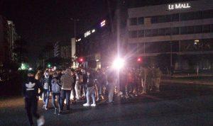 مسيرة راجلة لمحتجين جابت شوارع صيدا
