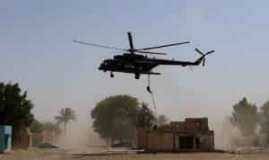 هبوط اضطراري لمروحية تابعة للتحالف الدولي في سوريا