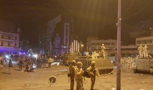 تدابير أمنيّة للجيش في طرابلس لمنع المحتجّين من دخول السرايا