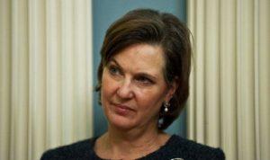 تعيين فيكتوريا نولاند نائبة لوزير الخارجية الأميركي إشارة لروسيا