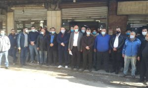 اعتصام لأصحاب الأفران في طرابلس