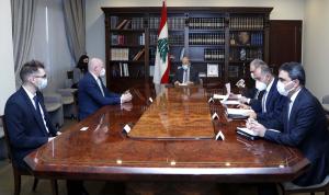 سفير ألمانيا في لبنان: لتأمين الحماية لعائلة لقمان سليم