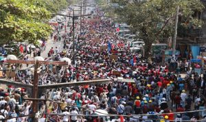 قتلى خلال تفريق المحتجين في ميانمار