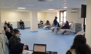 إقبال متزايد لكبار السن على اللقاح في مستشفى عكار الحكومي