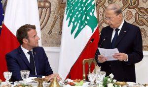ماكرون إلى السعودية لبحث ملف لبنان
