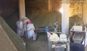 بالصور.. الجيش يدهم معملًا لتصنيع المخدرات في دير الأحمر
