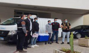 وصول دفعة لقاحات إلى مستشفى صيدا الحكومي