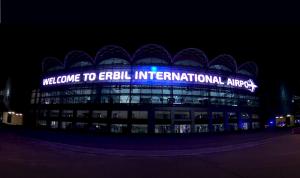 استهداف مطار أربيل بصاروخ مباشر