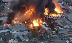 حريق في مصنع للكيميائيات في ولاية ميزوري الأميركية