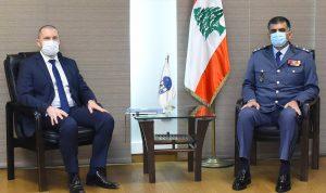 عثمان التقى ملحق الأمن الداخلي لدى السفارة الفرنسية