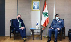 بحث في تعزيز التعاون والتنسيق بين اللواء عثمان ودل كول
