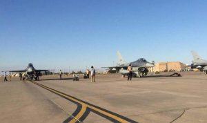 استهداف قاعدة بلد الجوية شمال بغداد