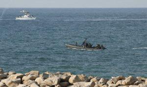 زورق حربي إسرائيلي خرق المياه مقابل رأس الناقورة