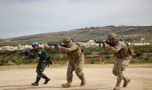 السفارة البريطانية: فريق متخصص يدرب ضباطا وجنودا للجيش اللبناني