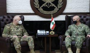 قائد عمليات أميركي يزور لبنان دعما لاحترافية الجيش