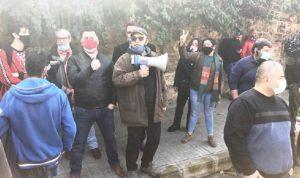 """وقفة أمام """"العسكرية"""" رفضًا للاعتقالات التعسفية"""