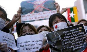 إدانات دولية بعد الانقلاب العسكري في ميانمار