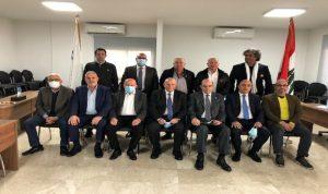 بيار الجلخ رئيسًا للهيئة التنفيذية الأولمبية اللبنانية