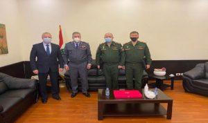 السفير الروسي في بيروت التقى رئيس أمن السفارات