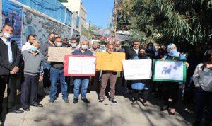 إقفال موقف الاونروا في صيدا احتجاجا على إهمال اللاجئين