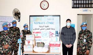 حملة لمواجهة كورونا من الكتيبة النيبالية لدعم بلديات منطقتها
