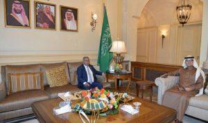 المستجدات بين بخاري والسفير اليمني