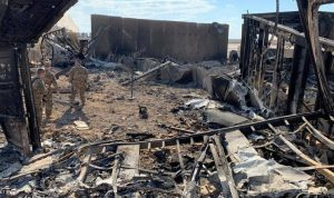 هجوم صاروخي على قاعدة عين الأسد في العراق