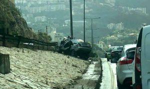 قتيل بحادث سير على أوتوستراد كازينو لبنان