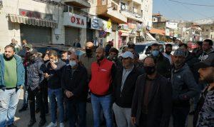 اعتصام لمربي الابقار في سرايا بيت الدين