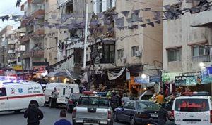 انهيار 3 شرفات من مبنى في الحوش (صورة)
