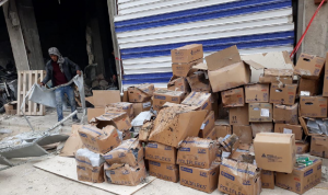 """""""أطباء بلا حدود"""": انفجارٌ في سوريا دمّر 80% من المخزون الطبي"""