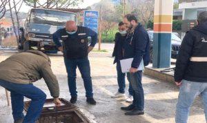 شرطة بلدية الميناء داهمت محطات الوقود التي أقفلت