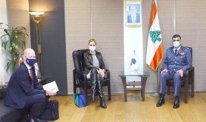 اللواء عثمان عرض مع السفيرة السويسرية سبل التعاون