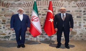 ظريف في تركيا: محادثات وبحث في العلاقات