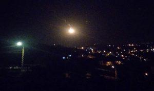 الجيش الإسرائيلي ألقى قنبلة مضيئة فوق كروم الشراقي