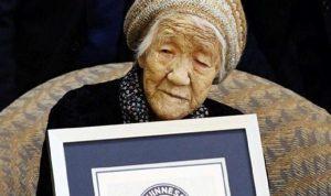 معمرة تبلغ 118 عامًا تحمل شعلة الأولمبياد في اليابان