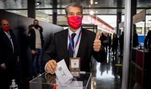 للمرة الثانية.. خوان لابورتا رئيسًا لنادي برشلونة الإسباني