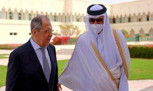 لافروف يختم جولته الخليجية باجتماع مع أمير قطر