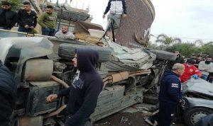 4 جرحى في حادث سير على أوتوستراد المنية – الضنية
