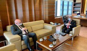 أوضاع لبنان والنازحين بين المشرفية والقائم بالأعمال البريطاني