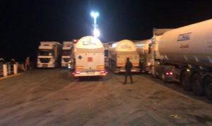 شاحنات اوكسيجين تصل الى لبنان الاثنين