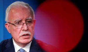 إسرائيل سحبت بطاقة عبور كبار الشخصيات من وزير الخارجية الفلسطيني