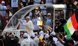 في أربيل.. 10 آلاف مشارك في قداس كبير للبابا