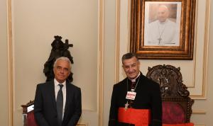 الأوضاع اللبنانية بين الراعي وسفير البرازيل