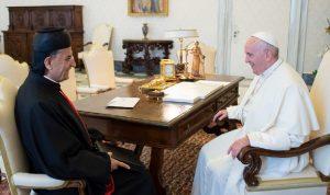 رسالة من البابا فرنسيس الى الراعي