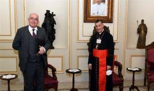 القائم بالاعمال البريطاني: أصدقاء لبنان مستعدون للمساعدة